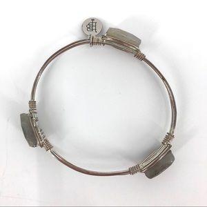 Bourbon & Bowties rose gold & silver tone bracelet